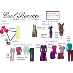 What Are Summer Colors pinmmm jewelrymelissa mullarkey on analysis of personal