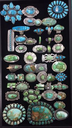 ' That's how turquoise was called by some Native American tribes. Wearing pieces of sky in a turquoise necklace is a provocative and attractive idea. Navajo Jewelry, Southwest Jewelry, Ethnic Jewelry, Boho Jewelry, Silver Jewelry, Silver Ring, Silver Earrings, Jewlery, Fashion Jewelry