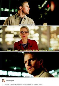 Arrow - Felicity & Oliver #4.13 #Olicity