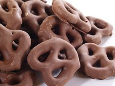 we need to serve pretzels too - they look like  a knot - covered in almond bark or candy in the color of the cords from the ceremony