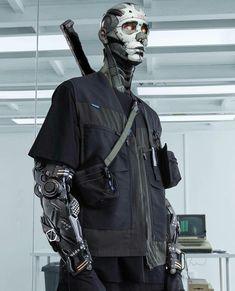 Cyberpunk Mode, Cyberpunk Kunst, Cyberpunk Aesthetic, Cyberpunk Fashion, Cyberpunk 2077, Cyberpunk Anime, Cyberpunk Clothes, Arte Ninja, Arte Robot