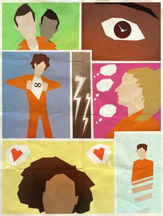 Misfits minimalist poster by Andry-Shango Such a fantastic series. Goodbye you crazy kids. Misfits Simon, Misfits Nathan, Misfits Tv, Misfits Wallpaper, Misfits Quotes, Robert Sheehan, Cinema Posters, Movie Wallpapers, Minimalist Poster