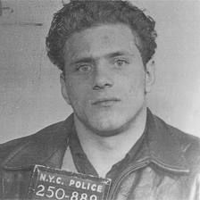 "Nicknamed ""Crazy Joe"", Joe Gallo was a well known New York City gangster for the Profaci crime family, which later became the Colombo crime family. Albert Anastasia, Real Gangster, Mafia Gangster, Gangster Movies, Carlo Gambino, Bob Dylan, Joe Gallo, Colombo Crime Family, Crime"