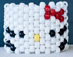 Hello Kitty Head Kandi Cuff