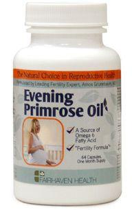 Evening Primrose Oil Natural Fertility