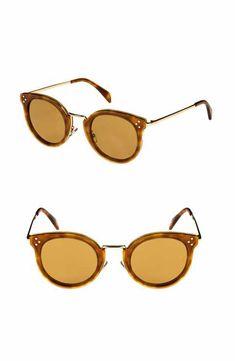 5c2ae1e403ce Céline 49mm Round Sunglasses Italian Sunglasses
