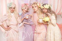 Candyfloss by Nicoline Patricia Malina, via Behance