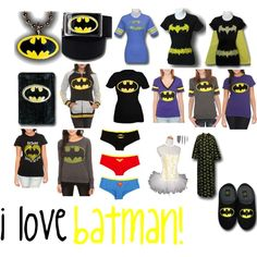 """more batman"" by theriahbell on Polyvore"