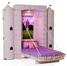 Princess Bed Castle Bed for Girl's Bedroom by FableBedworks  holly Molly so expensive