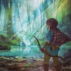 zelda art #TheLegendOfZelda #Nintendo