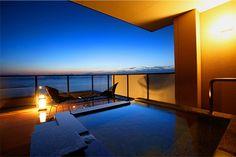 2海に浮かぶ天空の露天風呂付客室