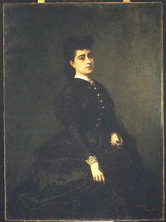 Madame Gaye (1865); Mariano Fortuny Marsal  (1838–1874), Metropolitan Museum of Art, New York