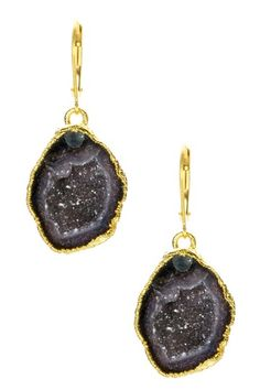 Nina Nguyen Bella Geode Drop Earrings