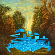 """Saatchi Art Artist Kenneth Whyte; Painting, """"This is the Beginning  ( Of The End )"""" #art"""
