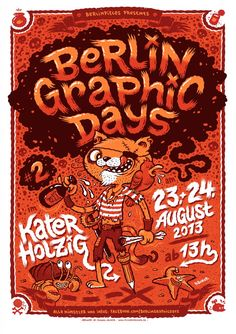 Michael Hacker Berlin Graphic Days poster