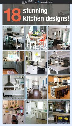 These kitchens are INSANE--I'm in love! <3
