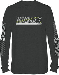 Hurley Men's Graphic-Print Shirt Mens Athletic Fashion, Nike Inspiration, Casual Shirts, Tee Shirts, Mens Fashion Sweaters, Hurley, Surf, Shirt Designs, Men Casual