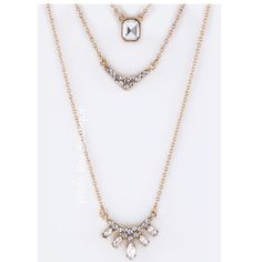 Statement Necklace & Earring Set Gorgeous Gold Fashion Necklace & Earring Set. Price firm unless bundled. Jewelry Necklaces