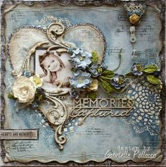 Memories Captured ~ Now Available as 'Video Only' Tutorial {At The Scrapbook Diaries!} and a GIVE-AWAY Share!