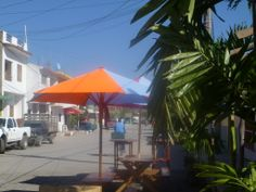 Downtown Melaque Mexico