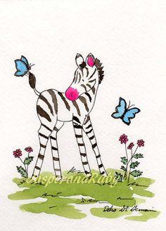 zebra for girl's room
