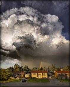 Neighborhood Storm Cloud by The Kav