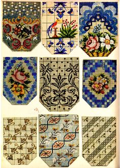 Berlin WoolWork Patterns For Victorian Purses 3