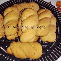 Αφράτα και μαλακά νηστίσιμα κουλουράκια από την Σόφη Τσιώπιου Vegan Menu, Party Time, Deserts, Bread, Food, Brot, Essen, Postres, Baking
