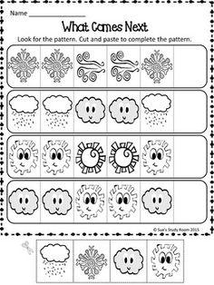 PATTERNS: Weather Patterns Worksheets
