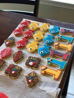 Ofishally one sugar cookies First Birthday Cookies, Boys First Birthday Party Ideas, First Birthday Pictures, First Birthday Decorations, Baby Boy First Birthday, Birthday Cake Smash, Boy Birthday Parties, Birthday Table, Table Decorations