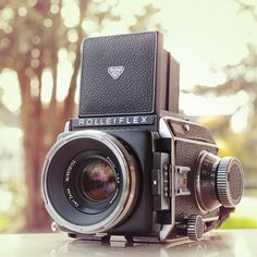 Vintage Rolleiflex Medium Format Camera / #Photography #Vintage