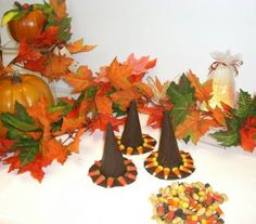 Halloween witches hats recipe. A good treat to make for halloween parties!
