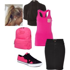 Noelle-inspired School Outfit