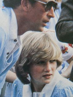 May 15, 1982: Prince Charles Princess Diana at a polo game at Rhinefield House, Brockenhurst, Hampshire.