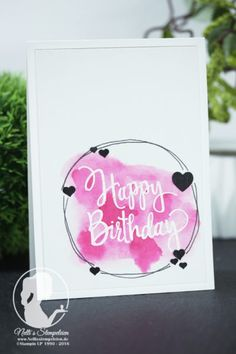 Tutorial Bundle Design Team Blog Hop - Nellis Stempeleien Stylized Birthday von Stampin UP