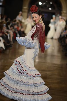 Wappíssima - We love flamenco 2015 - Viviana Ioiro - Viviana Ioiro Flamenco Costume, Flamenco Dancers, Flamenco Dresses, Gypsy Dresses, Ethnic Dress, Special Dresses, Spanish Style, Historical Clothing, Dance Outfits