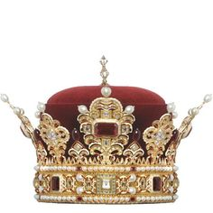 Prince crown: This is a copy of the crown of Prince of Liechtenstain (Ducal hat of Liechtenstein - German: Herzogshut); commissioned by Karl von Liechtenstein, was discovered missing in 1781 following death of Prince Franz Joseph I, & remains lost to House of Liechtenstein till present day.