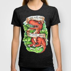 T-Rex T-shirt by Little Lost Forest - $22.00