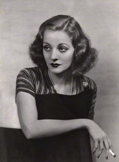 Tallulah Bankhead by Dorothy Wilding, bromide print, 1934. National Portrait Gallery London.
