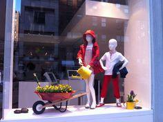 Il Gufo windows by Francesca Signori, New York visual merchandising
