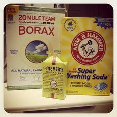 Make your own Lemon Verbena laundry detergent