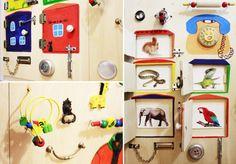 Developmental board: tips and ideas from mom — DIY is FUN