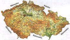 Czech Republic, Vintage World Maps, Creative, Homeschool, Maps, Homeschooling, Bohemia