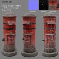 A low poly modeling with maya and photoshop for texturing Game Environment, Environment Concept Art, Environment Design, Polygon Modeling, 3d Modeling, Low Poly Games, Concept Art Tutorial, Game Textures, Cinema 4d Tutorial