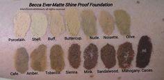 Becca Ever Matte Foundation