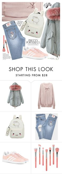 """""""YesStyle - 10% off coupon"""" by vanjazivadinovic ❤ liked on Polyvore featuring chuu, adidas Originals, Bdellium Tools, Bobbi Brown Cosmetics, Fall and yesstyle"""