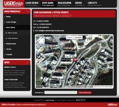 Laser Design | Dove Siamo - Ufficio Vendite | www.arredamentipersonalizzati.it