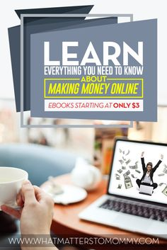 Learn anything you want to know about making money online.