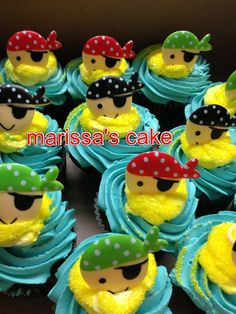 Jake in the neverland cupcakes.