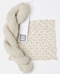 Pebble by Shibui Knits - A super fine silk blend #yarn